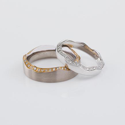 AG-ring-grey-yellow_white|DAWN WEDDING