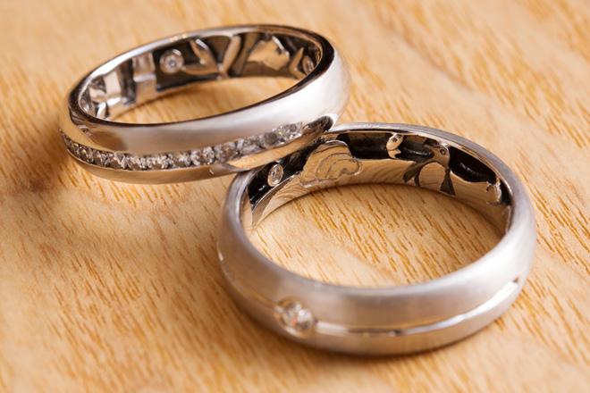 第三對婚戒 | DAWN WEDDING