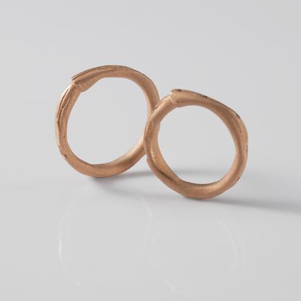 Ring_MarionKnorr_leaf03|DAWN WEDDING