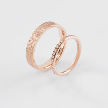 T&C-ring-scratch-rosegold-B-03|DAWN WEDDING
